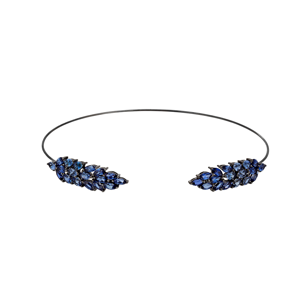 Roxy Collection - Ceylon Blue Sapphire - Choker R/CH01   La